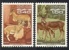 Algeria 1968 Protected Animals/Nature/Sheep/Deer/Wildlife/Conservation  2v n3924
