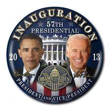 "57th Presidential Inauguration Barack Obama 2013 Democrat Pin Button 3"""