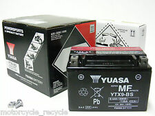 NEW YUASA OEM APPROVED YTX9BS YTX9-BS BATTERY SUZUKI GSF650 GSF 650 BANDIT 05>