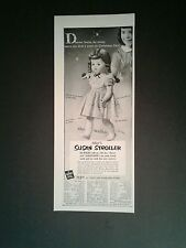 1953 Eegee's Susan Stroller Girls~Kids Toy Doll Memorabilia Trade Print Art Ad