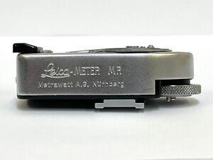 [Exc+5 Meter Work] Leica Meter MR-4 MR4 Silver For M2 M3 M4-2 M4-P JAPAN