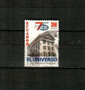 ECUADOR Scott's 1415 ( 1v ) Universe Daily Newspaper F/VF Used ( 1996 )
