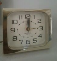VINTAGE Westclox USA Dash Drowse Dialite 189H Table Alarm Clock - Working