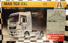 Italeri 3877 MAN TGX XXL Truck  1:24 Plastic Model Kit 553877