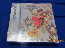 GBA - Kingdom Hearts: Chain of Memories ~ Brand New Factory Sealed Game ~