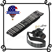 Adjustable Camera Strap Shoulder Neck Sling Belt For Canon Nikon Sony SLR DSLR