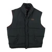 Polo Ralph Lauren Mens Vest Jacket Size L Black Down Puffer Full Zip Sleeveless