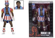 """NECA ROCKY 40TH ANNIVERSARIO SERIE 2 Apollo Creed 7"""" Action FIGURE Stars Stripes"""