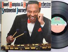 Jazz Lp Lionel Hampton Sentimental Journey On Atlantic