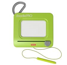 FISHER PRICE DOODLE PRO CLIP MAGNETIC DRAWING TRAVEL & PORTABLE GREEN CHP04 *NU*