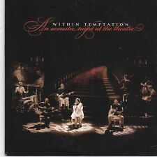 Within Temptation-An Acoustic Night At The Theatre promo cd album cardsleeve