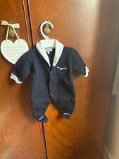 Armani Boys Babygrow 1m