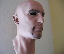 DEREK MASK - Realistische Latexmaske, Realistic Male Latex Männermaske Rubber