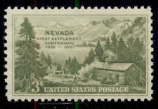 #999, 3¢ Nevada Statehood Stamps Lot Of 400 Mint - Spice Up Your Mailings!