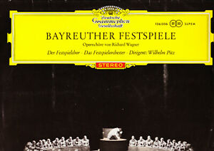 BAYREUTHER FESTSPIELE-OPERNCHÖRE WAGNER-WILHELM PITZ.RED STEREO.