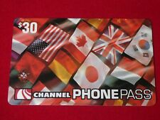 $30 Channel PHONE PASS