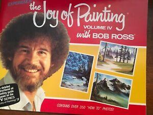 BOB ROSS, JOY OF PAINTING, companion Book to TV SERIES 4,-THIRTEEN FAB PAINTINGS