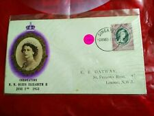 Malaysia Malaya fdc 1953 Coronation Queen Elizabeth QE ISELANGOR SINGAPORE