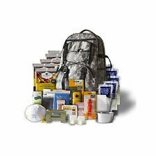 Wise Foods Camouflage Survival Backpack Bug Out Bag 5 Day Emergency Food Supply