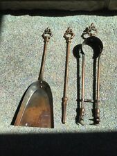Vintage Stove Shovel, Coal Tongs With Claw Feet, Coal Tool, Fireplace Tools