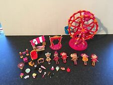 Lalaloopsy Ferris Wheel With Magic Set Ice Cream Shop Dolls And Accessories
