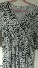 NEW LADIES BLACK/WHITE DRESS SIZE XL