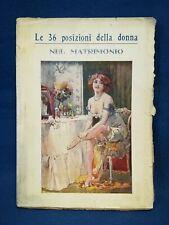 Pietro Aretino (Giuseppe Senizza), Le 36 posizioni della donna nel matrimonio.