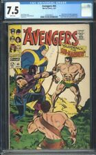 Avengers 40 CGC 7.5 White Silver Age Key Marvel Comic Hercules App. IGKC L@@K