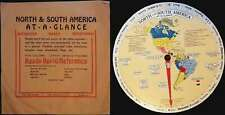 1931 International At-A-Glance Chart of North and South America