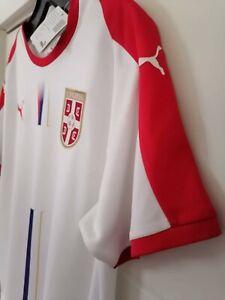 SERBIA Football shirt Jersey Trikot NEW with tags PUMA XL SIZE