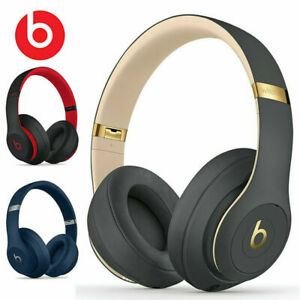 New Studio 3 Wireless Noise Cancelling Headphones Bluetooth With Mic Over-Ear💕
