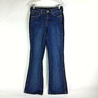 Wrangler Womens Boot Cut Jeans Size 3/4 x 32