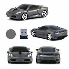 UK 2.4GHz Wireless 3D Cool 1600DPI Car Model Shape Optical Usb Cordless Mouse