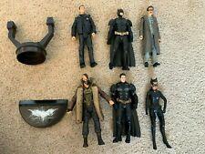 DARK KNIGHT RISES Action Figure Lot (Mattel) Batman, Catwoman, Bane, Gordon