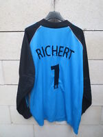 Maillot goal GIRONDINS DE BORDEAUX vintage ADIDAS shirt RICHERT n°1 collection