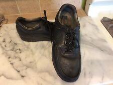SAS Black Leather Pebble Finish Tripad Comfort Lace Up Oxfords Size 15M (G8)