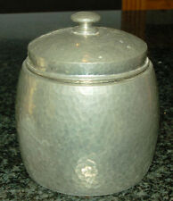 Pewter Collectable Tobacco Jars