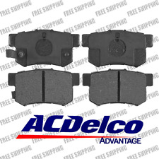 Rear 4pcs Brake Pads Ceramic ACDelco Advantage 14D536CH Fits Acura CL Legend RDX