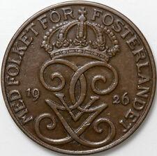 1926 SWEDEN 5 ORE COIN