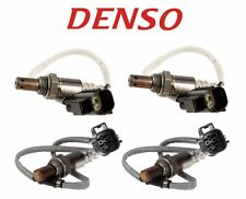 NEW Land Rover Range Rover 2006 Set of Front and Rear Oxygen Sensors Denso