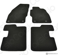 Vauxhall Corsa D & E 2007 to 2019 Tailored Black Car Floor Mats 4 Piece Set