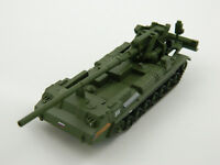 2S7 Pion, Russia, 1:72nd scale diecast Tank №55 by Fabbri