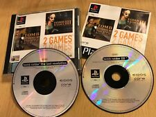 2 Juegos De Playstation 1 PS1 Lara Croft Tomb Raider 3/III + la última revelación