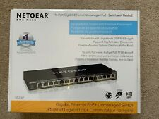 NETGEAR GS316P-100NAS 16-Port Gigabit Ethernet Unmanaged PoE+ Switch