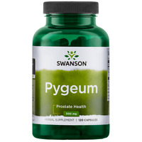 Swanson Pygeum Bark & Extract Capsules, 500 mg, 120 Ct