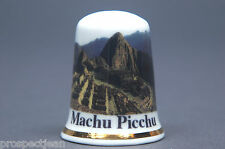 Machu Picchu, Peru. South America China Thimble B/161