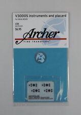 Archer 1/35 V3000S German Army Truck Instruments & Placards (ICM #35411) AR35349