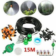 15/25M Feet Diy Micro Drip Irrigation System Plant Self Watering Garden Hose Kit