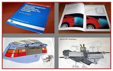 SSP 101 VW Corrado Heckspoiler Selbststudienprogramm 1987 gelocht