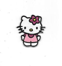 SANRIO HELLO KITTY Pink Jumpsuit  Fabric Embroidered Iron/Sew On Patch